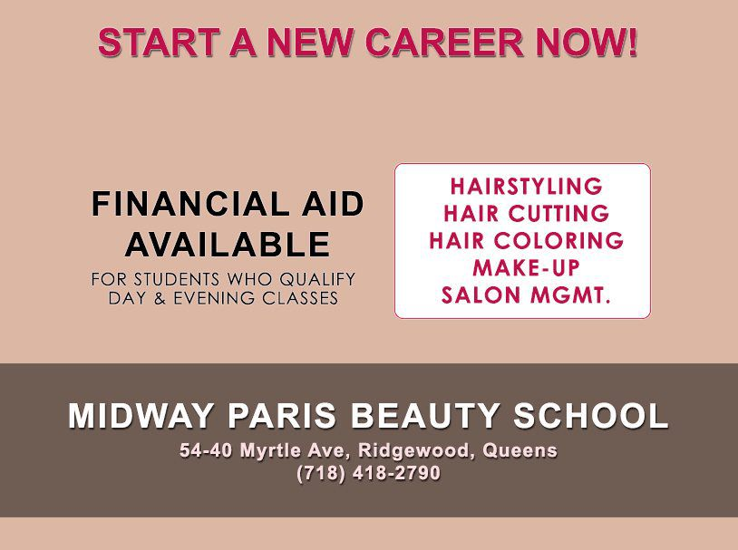 Hairdressing And Cosmetology Program - Midway Paris Beauty ...