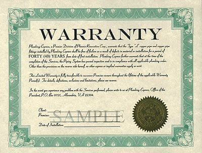 Warranty Info Houseguard Waterproofing