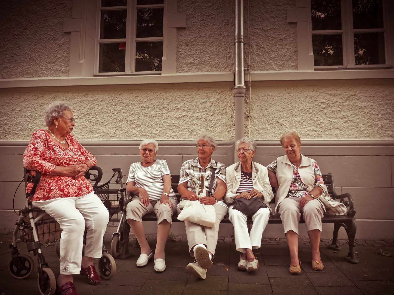 Group of Grandparents
