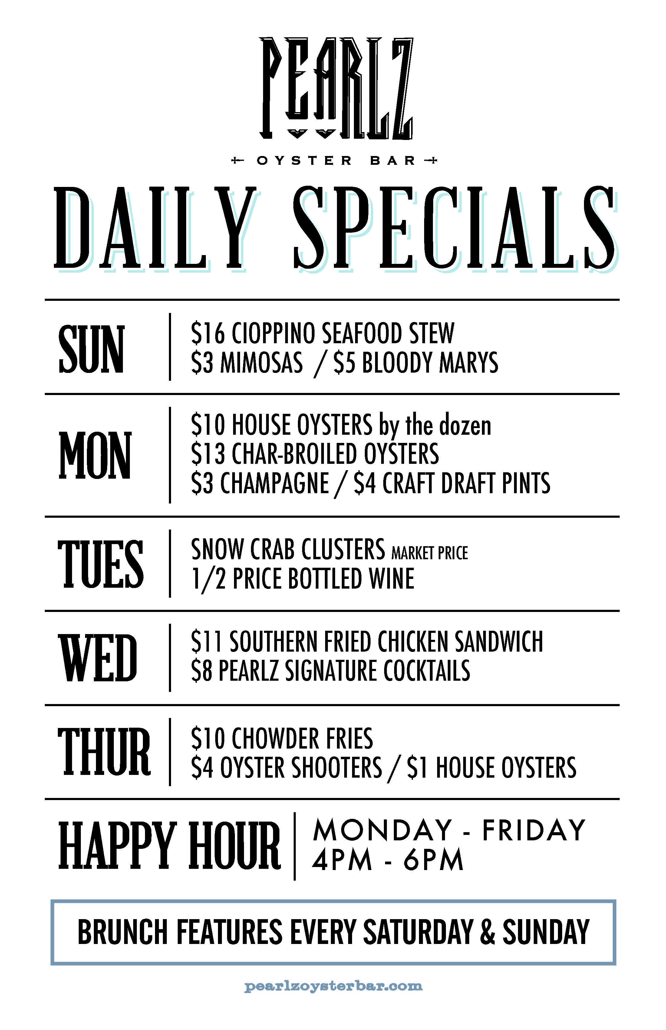 Pearlz Charlotte Daily Specials FEB 2017.jpg