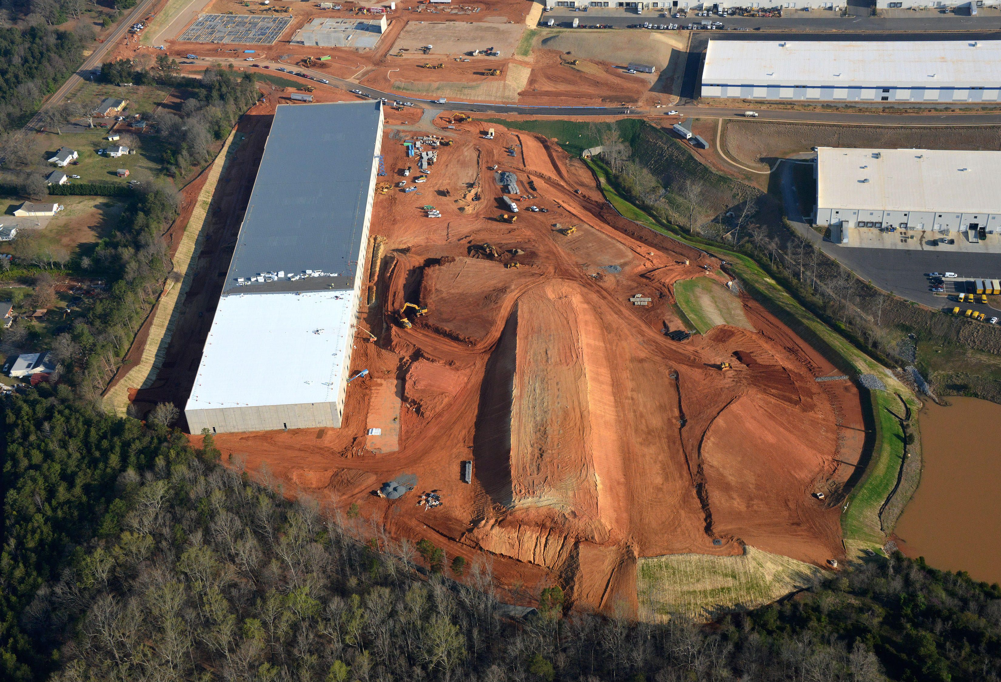Charlotte road construction projects - Epicenter