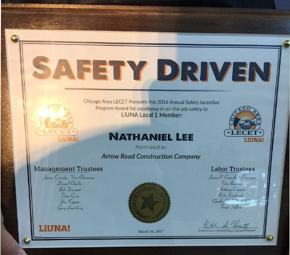 Nathaniel Lee_Arrow Construction Company Award.jpg