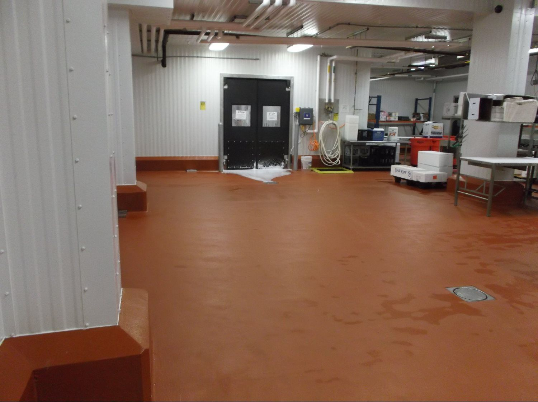 Poly-crete flooring service
