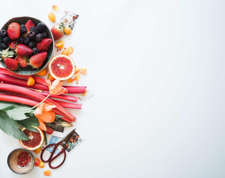 balanced healthy food