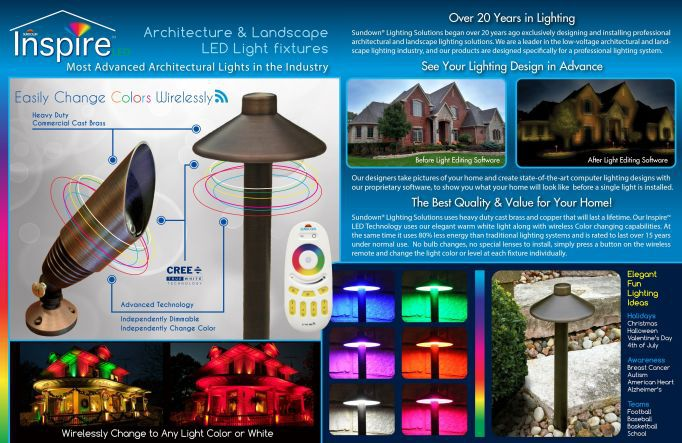 Inspire Architectre & Landscape LED Light fixtures