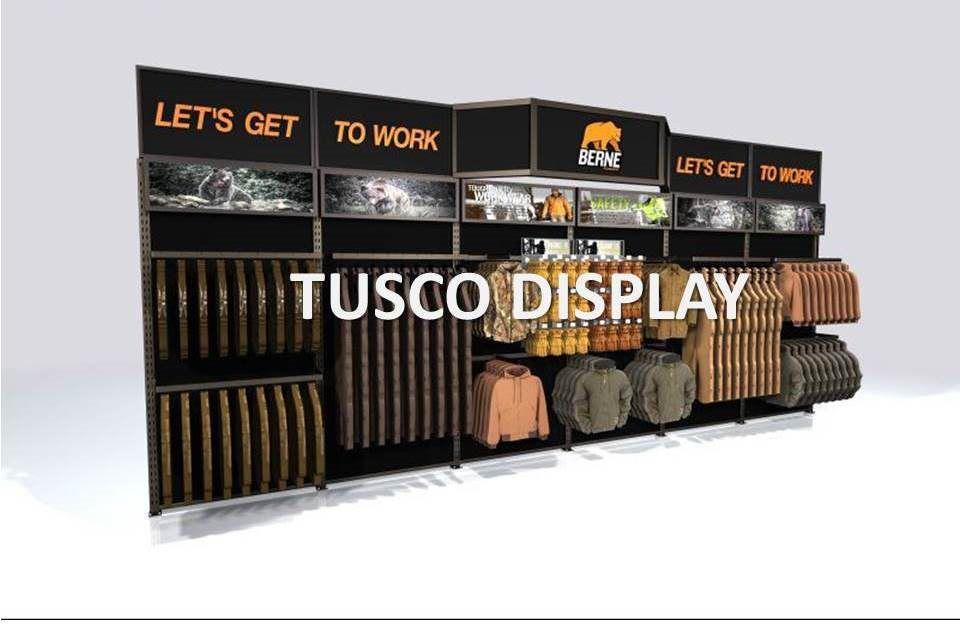 Custom Displays Fixtures And Pop Displays Tusco Display