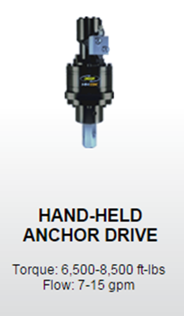Anchor Drives | Pile Installation Equipment | New Jersey