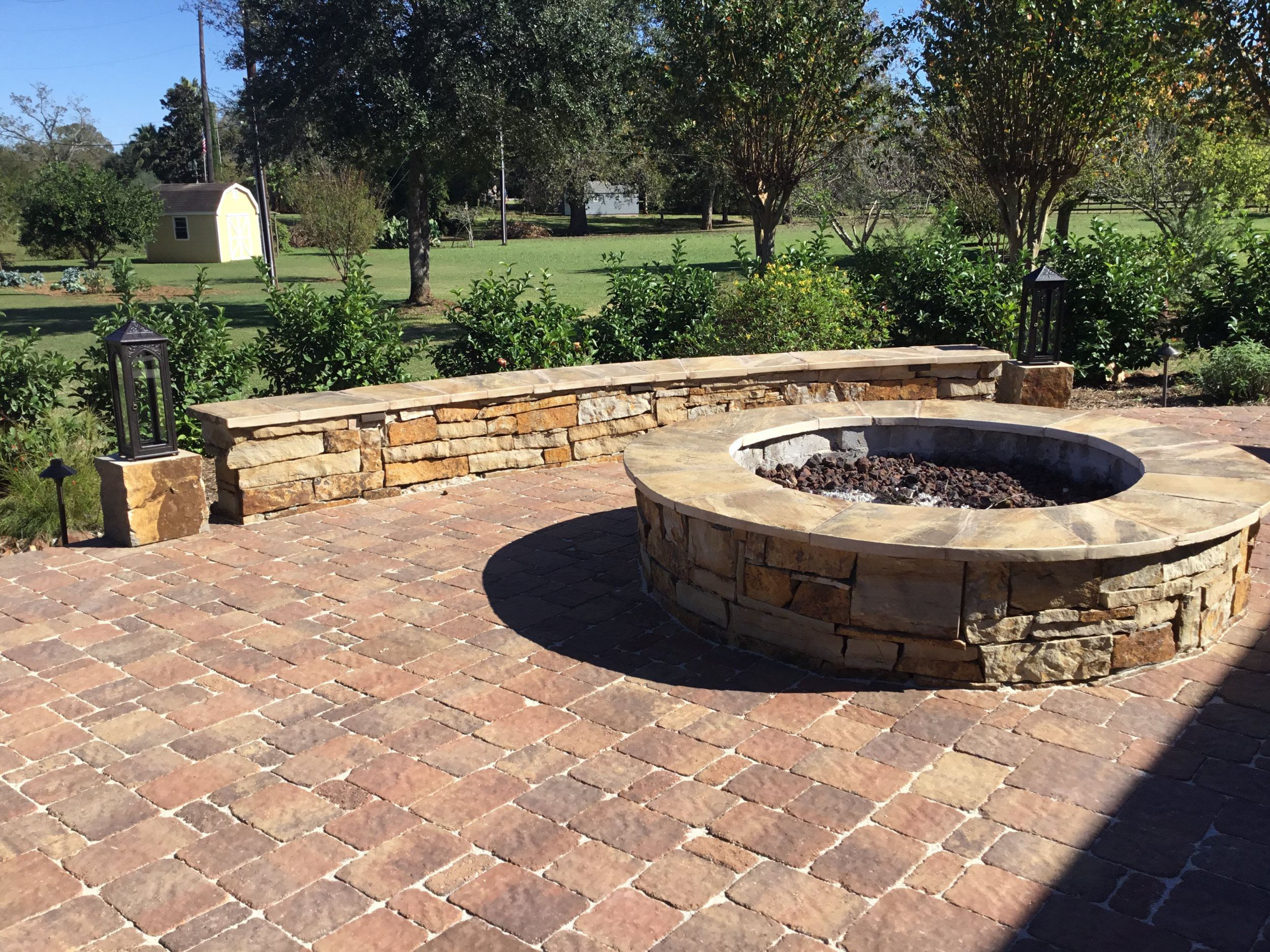 Outdoor Kitchen Fire Pits