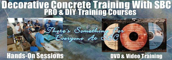 Decorative Concrete - Best Decorative Concrete Training School and Leading Innovation Center ...
