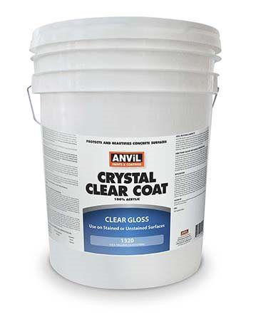 Clear Concrete Sealers Products - Anvil Paints & Coatings, Inc