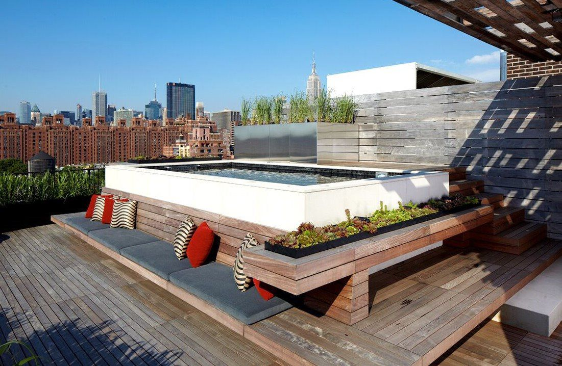 Residential roofdeck