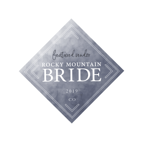 Rocky Mountain Bride Vendor Badge