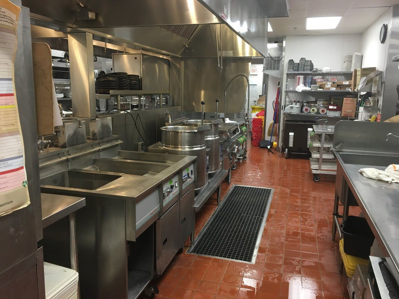 Kitchen Deep Cleaning Services - Leading Edge Services Inc