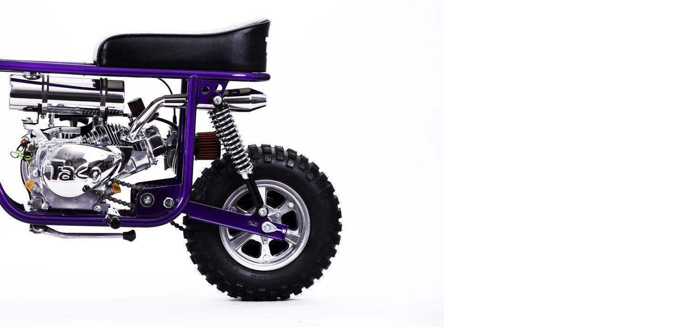 taco mini bike 100b
