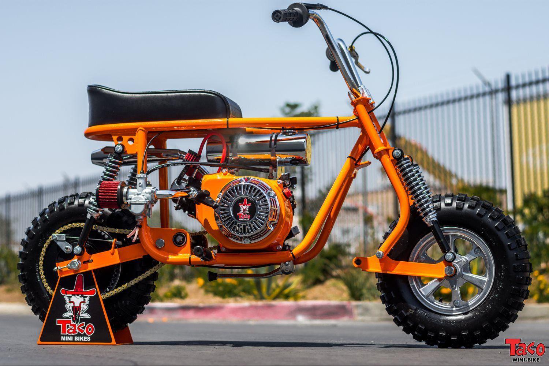 taco mini bike 100b orange