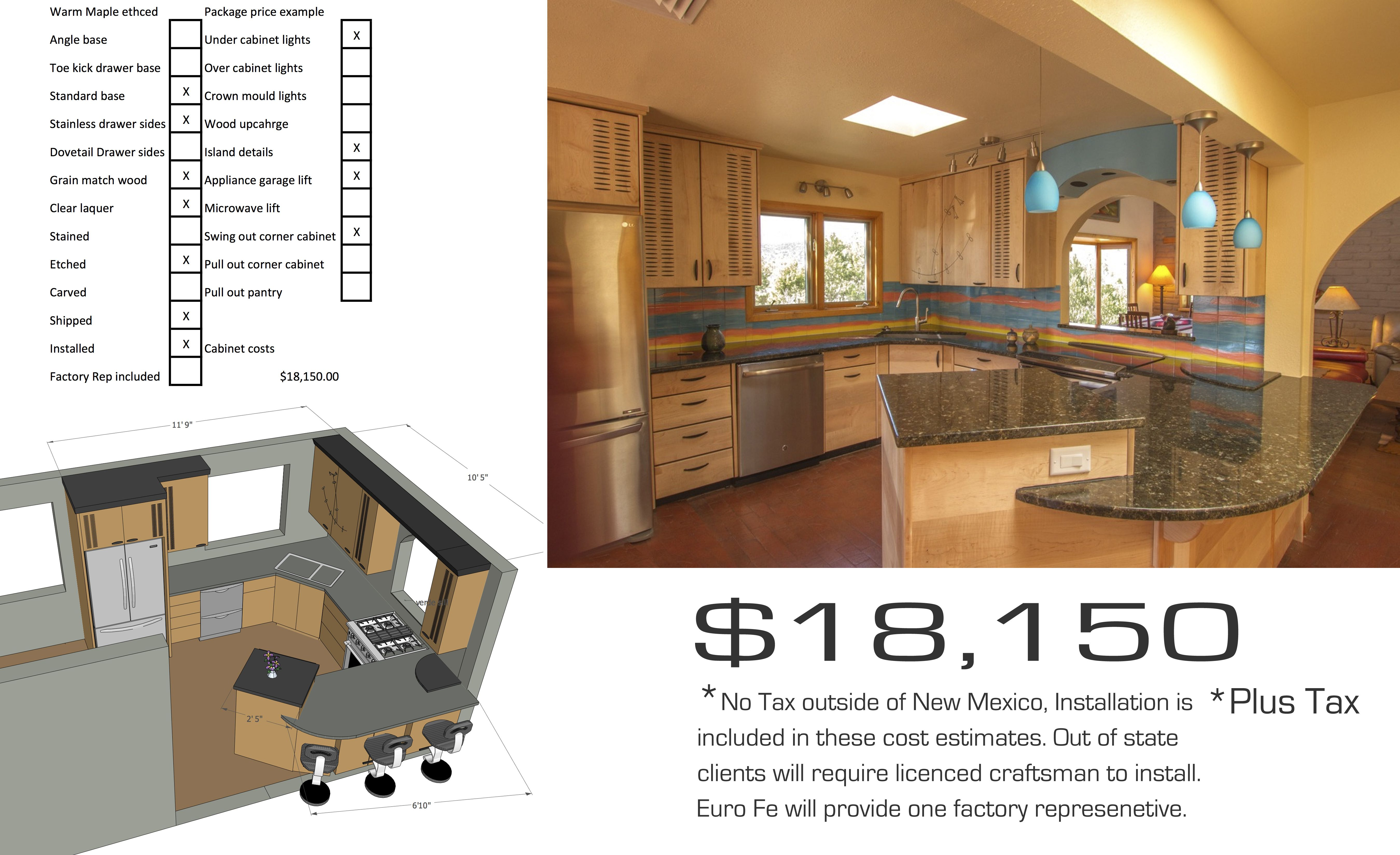 Get A Feel For Costs   Kitchen Cabinets - Albuquerque - Euro ...