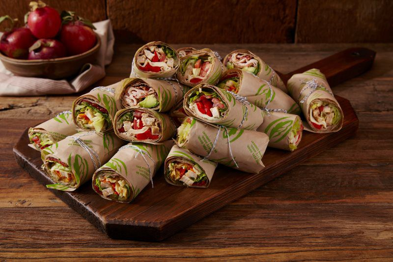 Catering Food Wraps