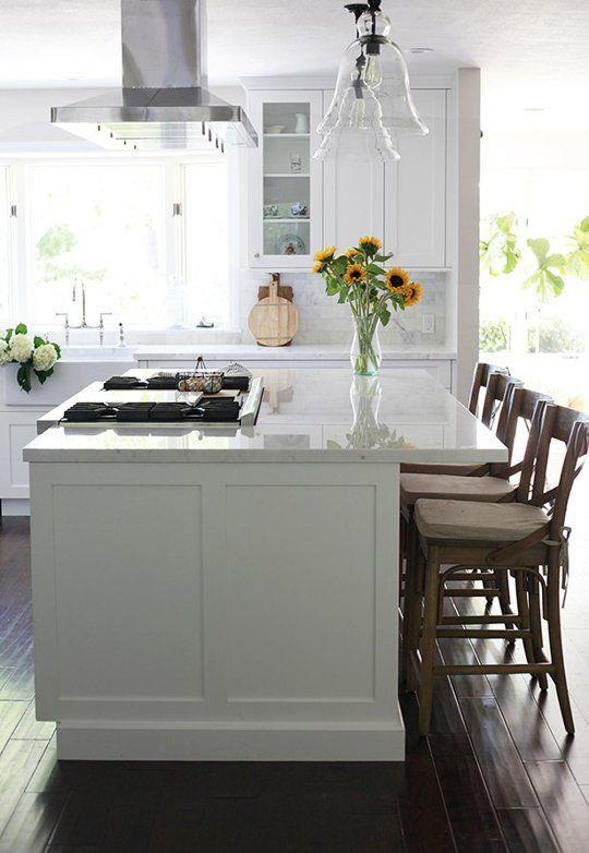 Island Cooktops Save A Lot Of Space, Giving You More Room To Work With When  Cooking.