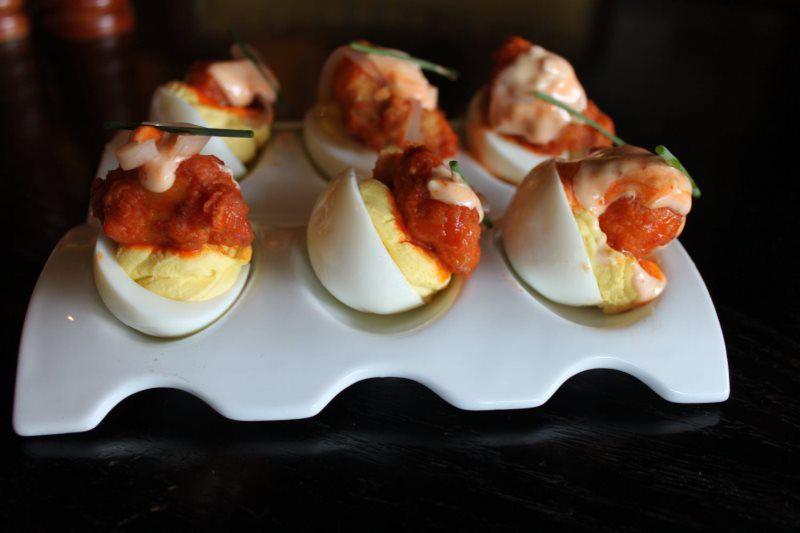Appetizer Deviled Eggs