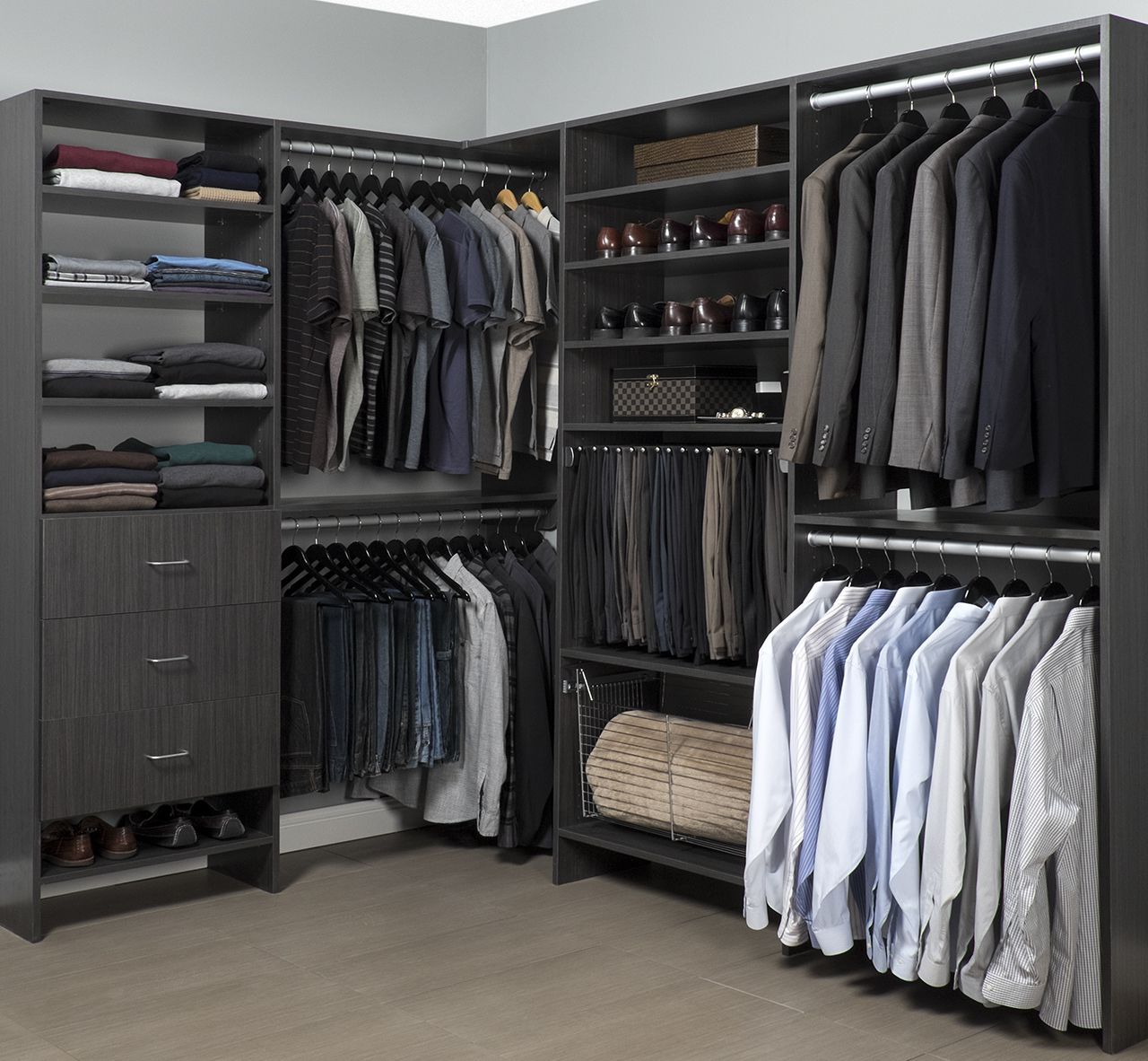 Our hoboken nj window treatments store creates custom for How to design closet storage