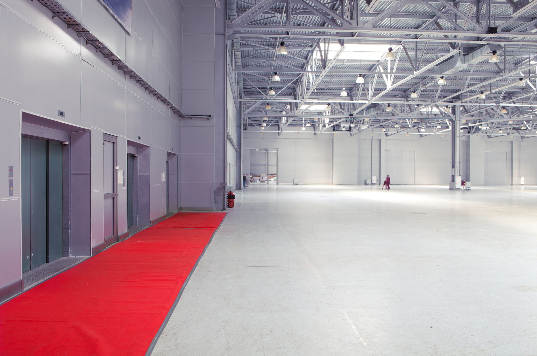 Paint Platoon USA Specializes In Painting Warehouse Interior Ceilings And Floors