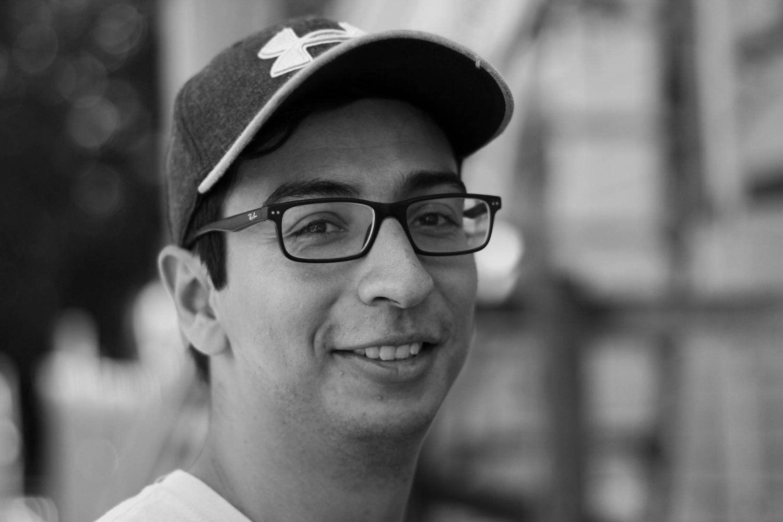 man wearing an eyeglass