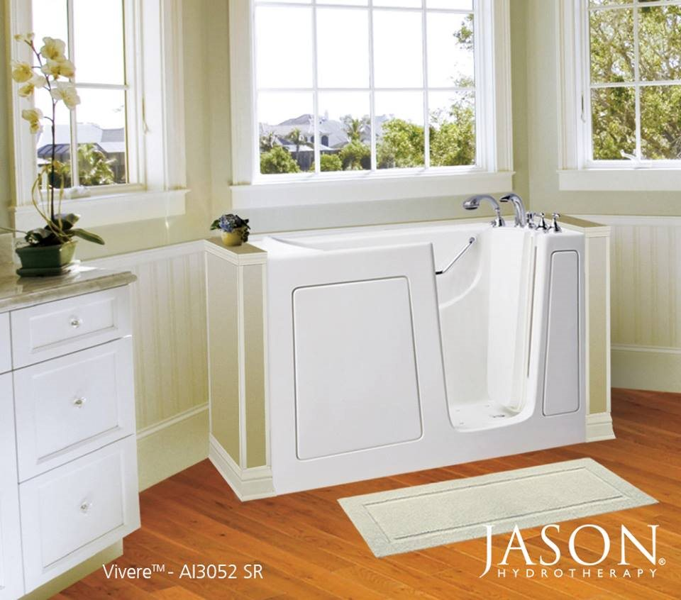 Jason Hydrotherapy Unveils The Vivere Walk-in Tub With MicroSilk ...