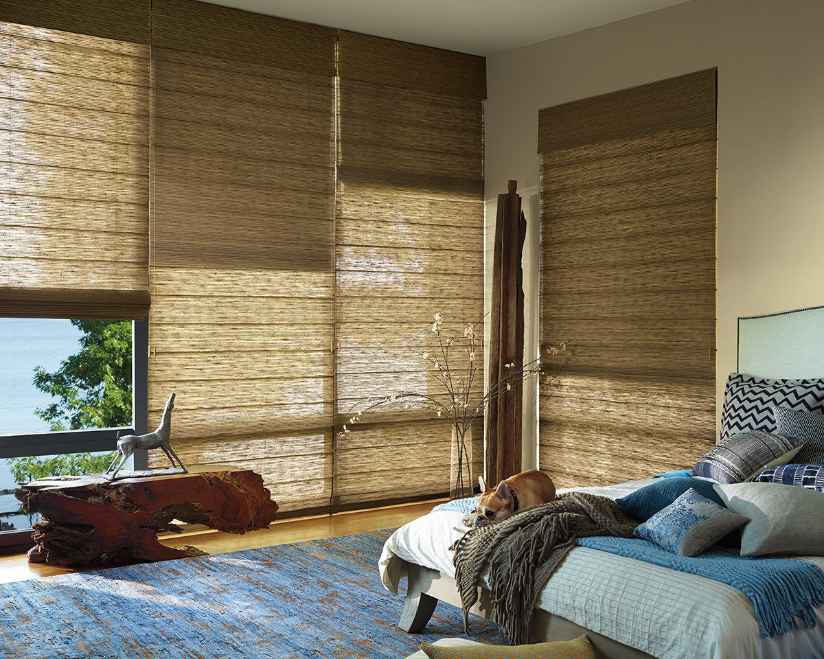 Featured Woven Wood Shades - Urban Blinds