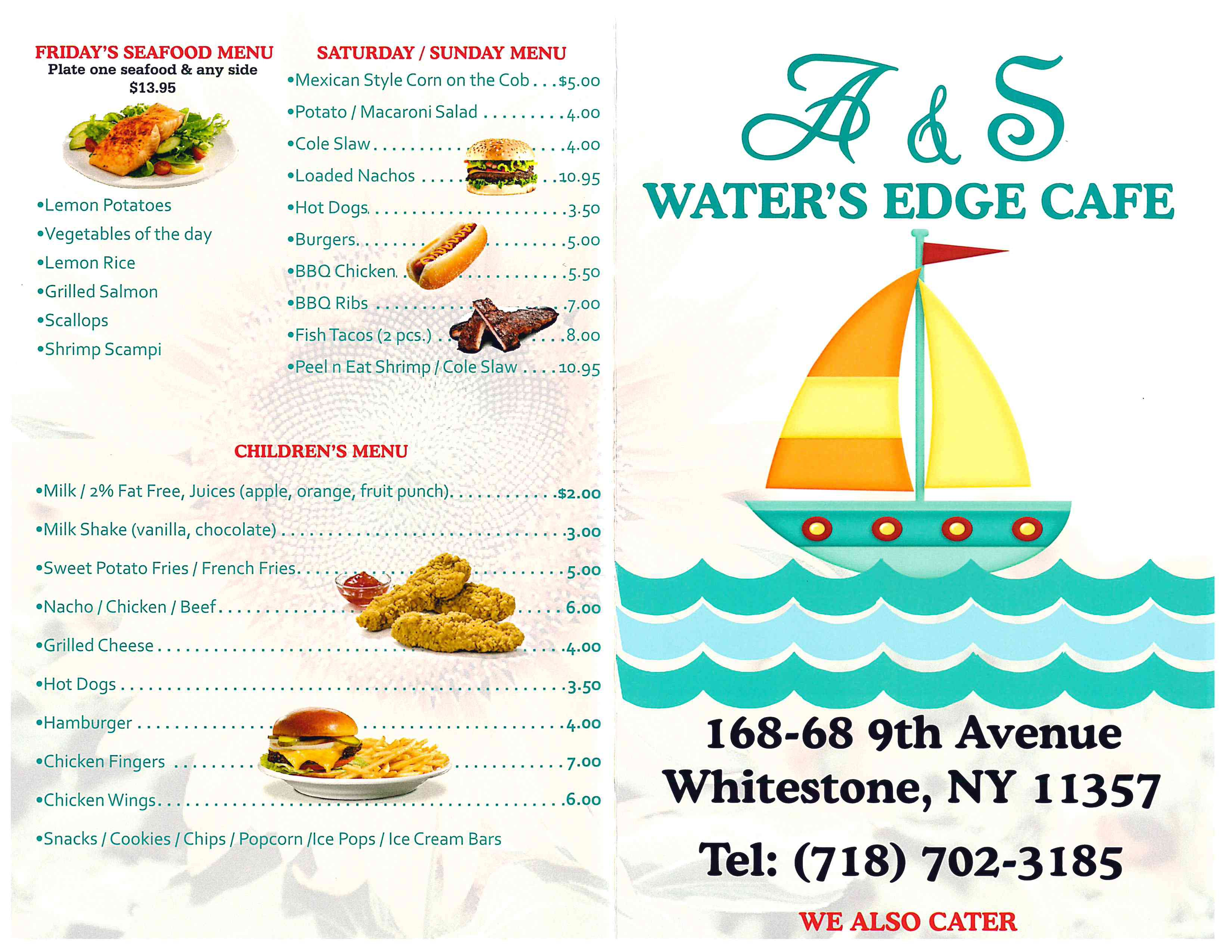 A & S Water's Edge Cafe Menu 2.jpg