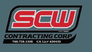 SCW Contracting Corp Logo