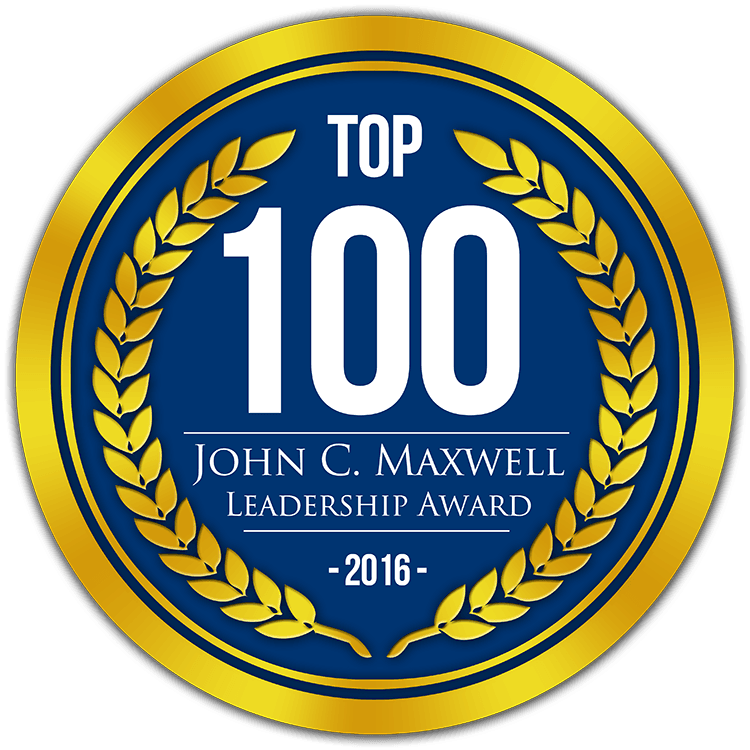 top 100 leadership award 2016