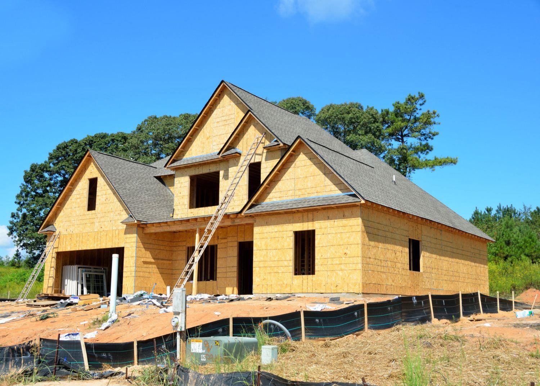 new built house