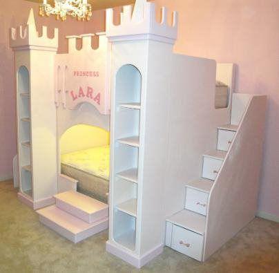 GRAND PRINCESS CASTLE BUNK LOFT BED