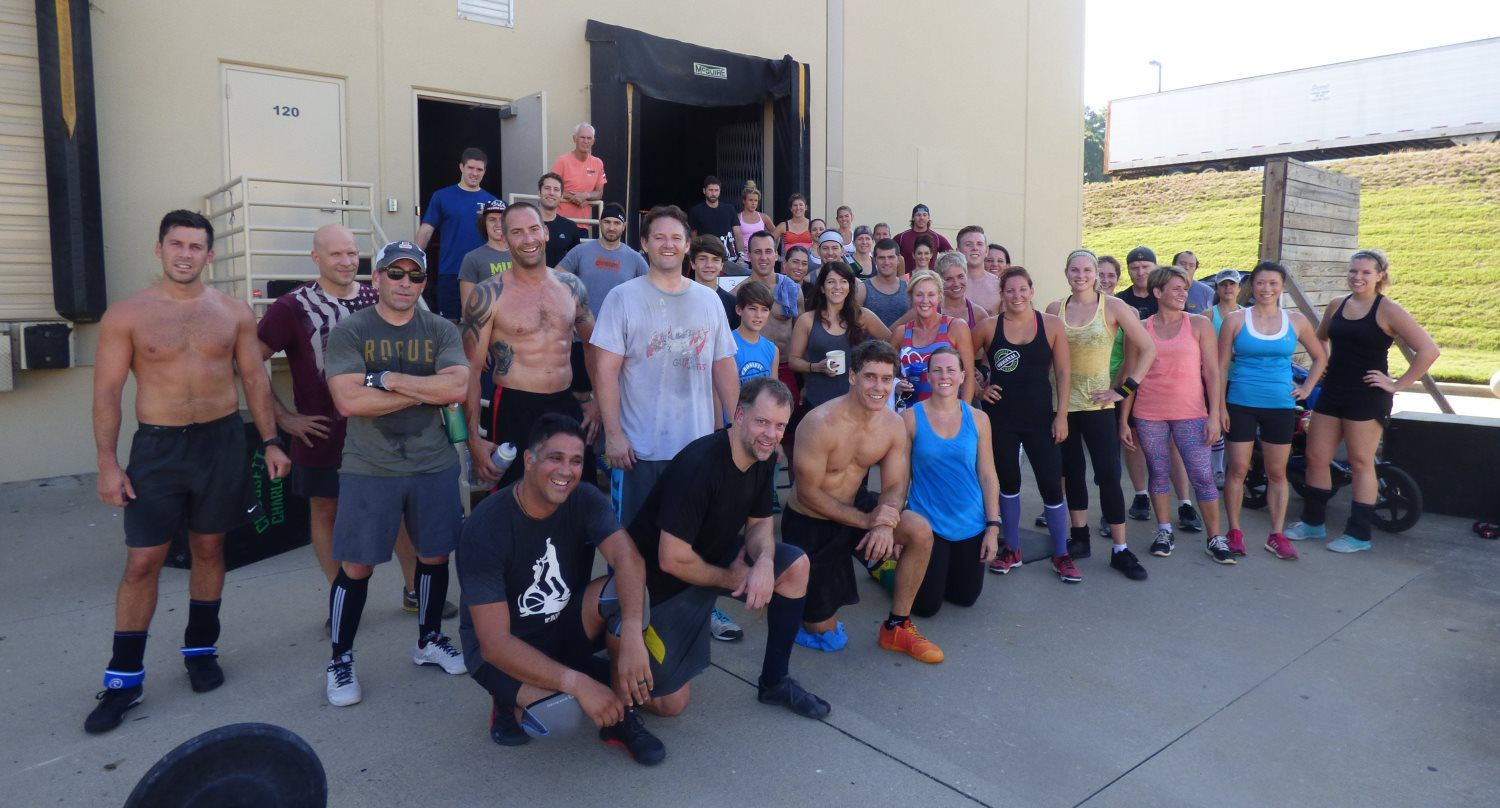 Crossfit Charlotte Group Photo