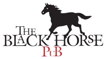The Black Horse Pub logo