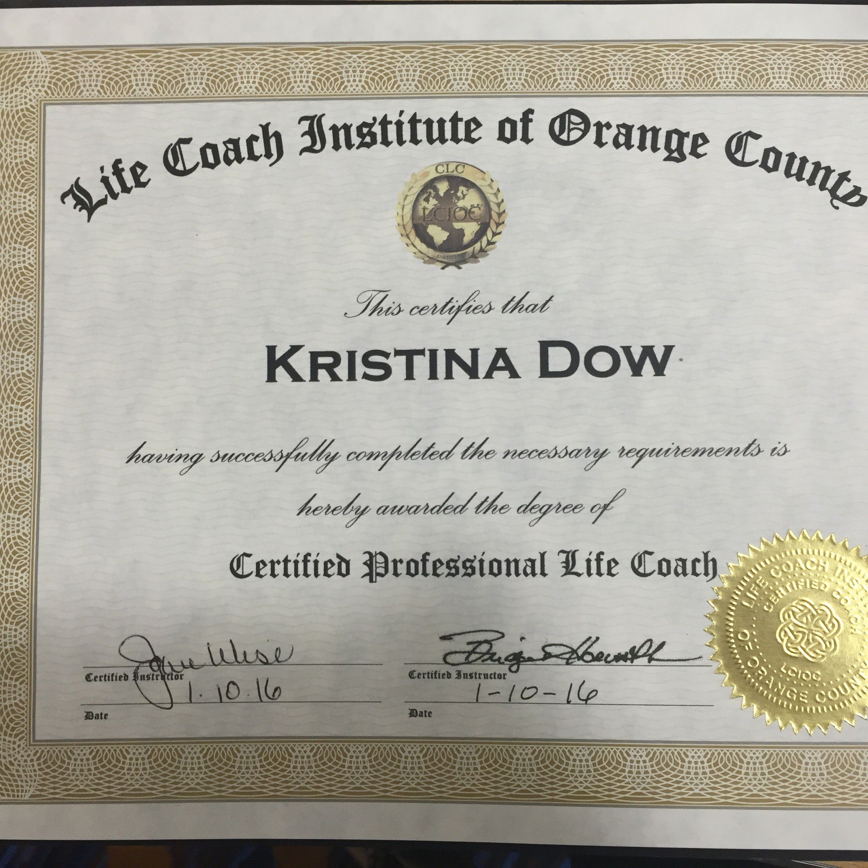 Life Coachenergy Healing Kristina Dow Los Angeles Singer