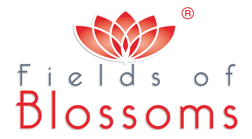 Fields of Blossoms logo
