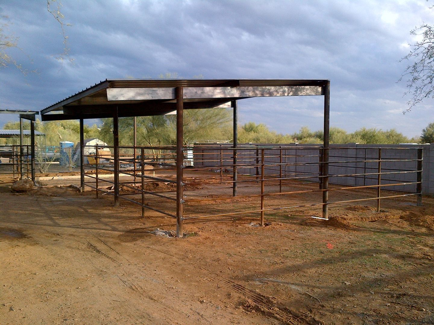 Pipe Fencing Arenas