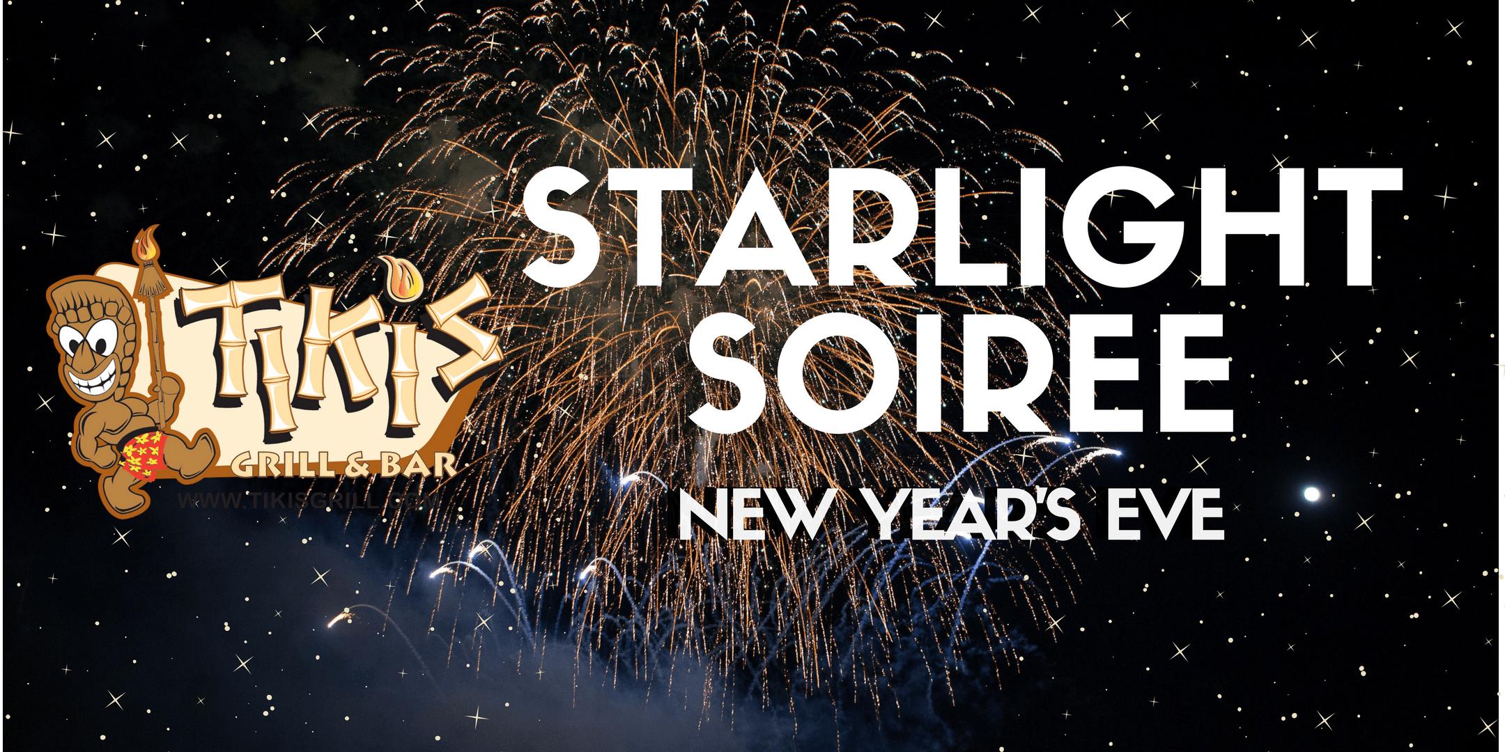 tiki s new year s eve starlight soiree dinner party tiki s grill
