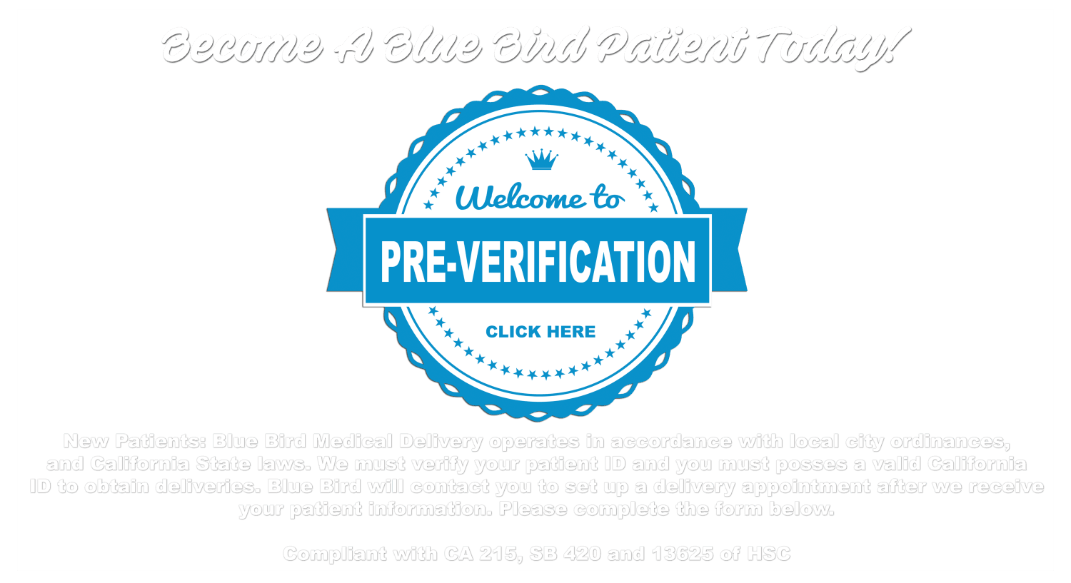 Verification - Blue Bird RX on physical medical forms, diagnosis medical forms, patient info forms, new patient charting, new patient signs, patient health forms, new patient intake form, emergency medical forms, new patient admissions, hipaa patient consent forms, new patient form template, printable nursing assessment forms, new patient information form, insurance medical forms, surgery medical forms, blank patient information forms, blank medical history forms, printable doctor fill out forms, medical triage forms, new baby medical forms,