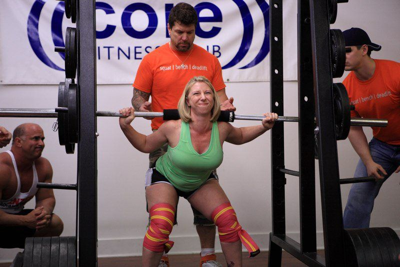powerlifting contest core fitness club
