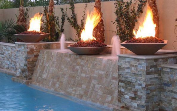 Fire Water Features Dreamcrete Custom Creations