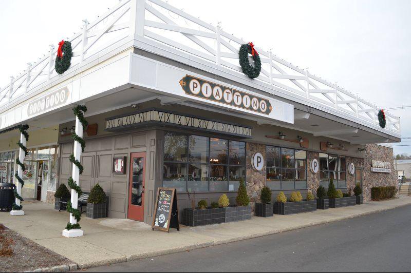 Piattino Contemporary American Restaurant In Morristown Nj Town Bar Kitchen