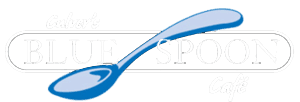 The Blue Spoon Café Logo