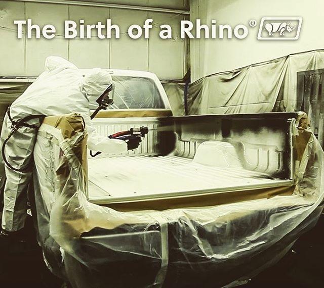 Birth of a Rhino Lined Truck
