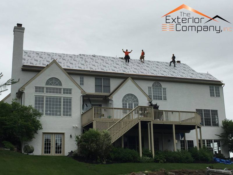 The Exterior Company Lancaster Pa Home Exterior Repair Contractor  The Exterior