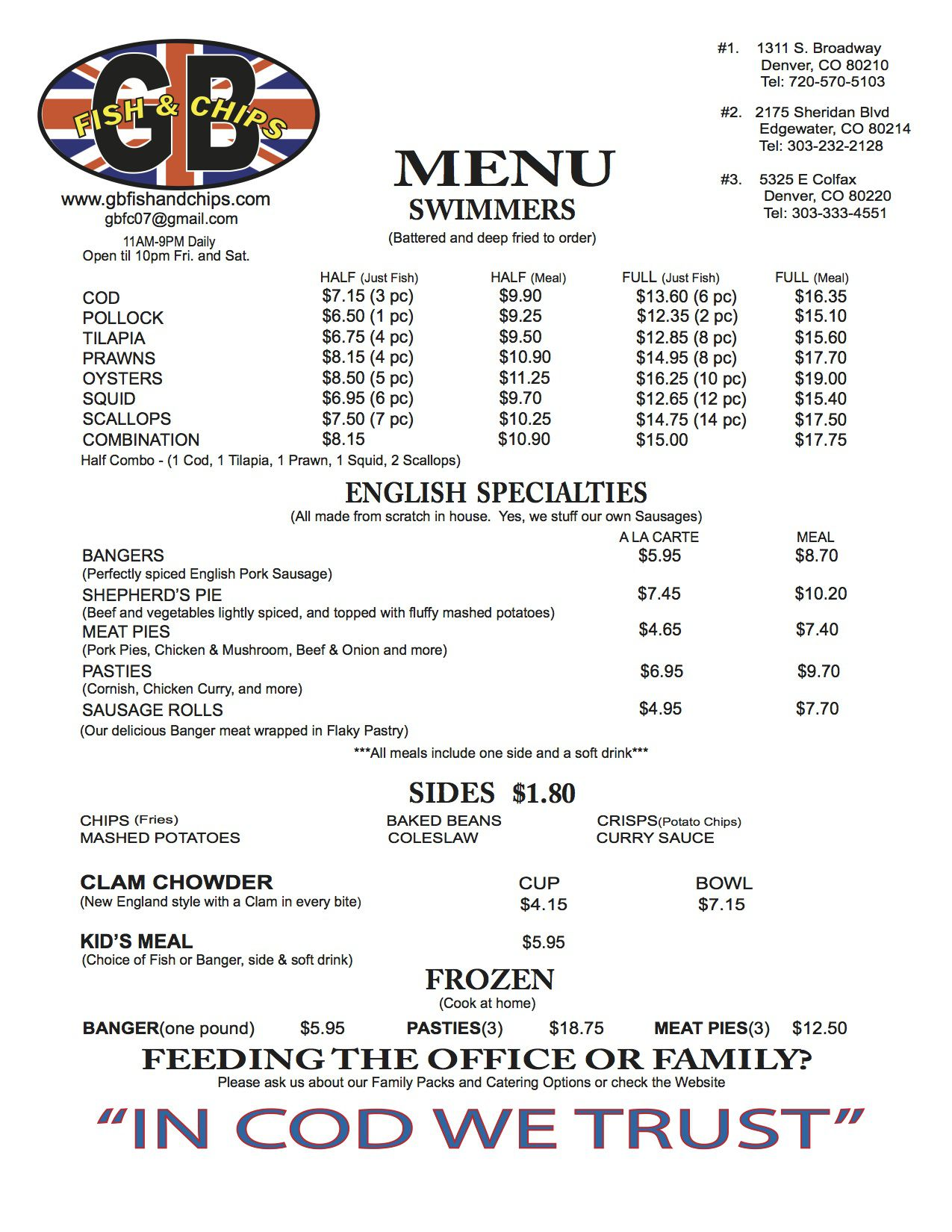 menu gb fish