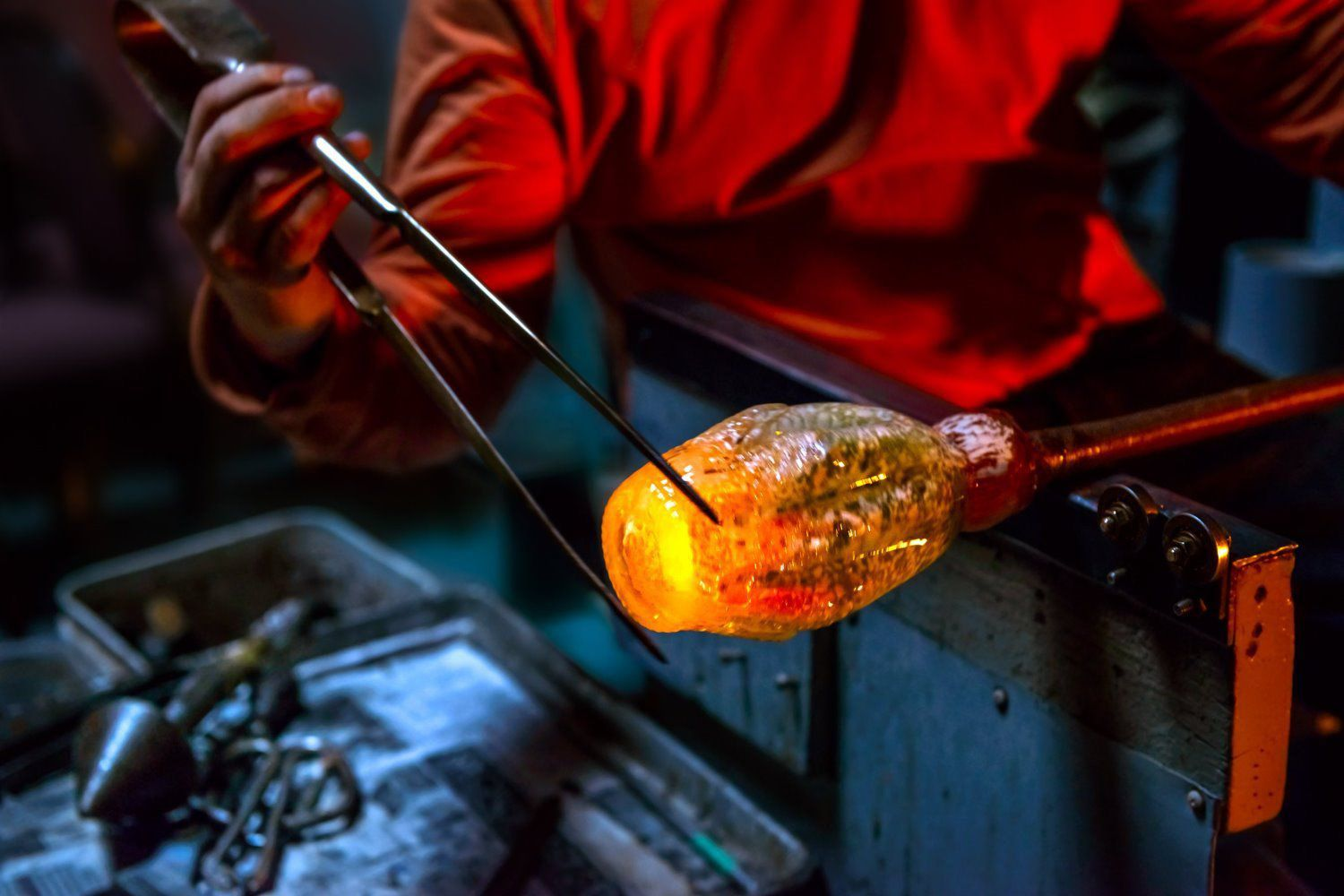 hot glass works