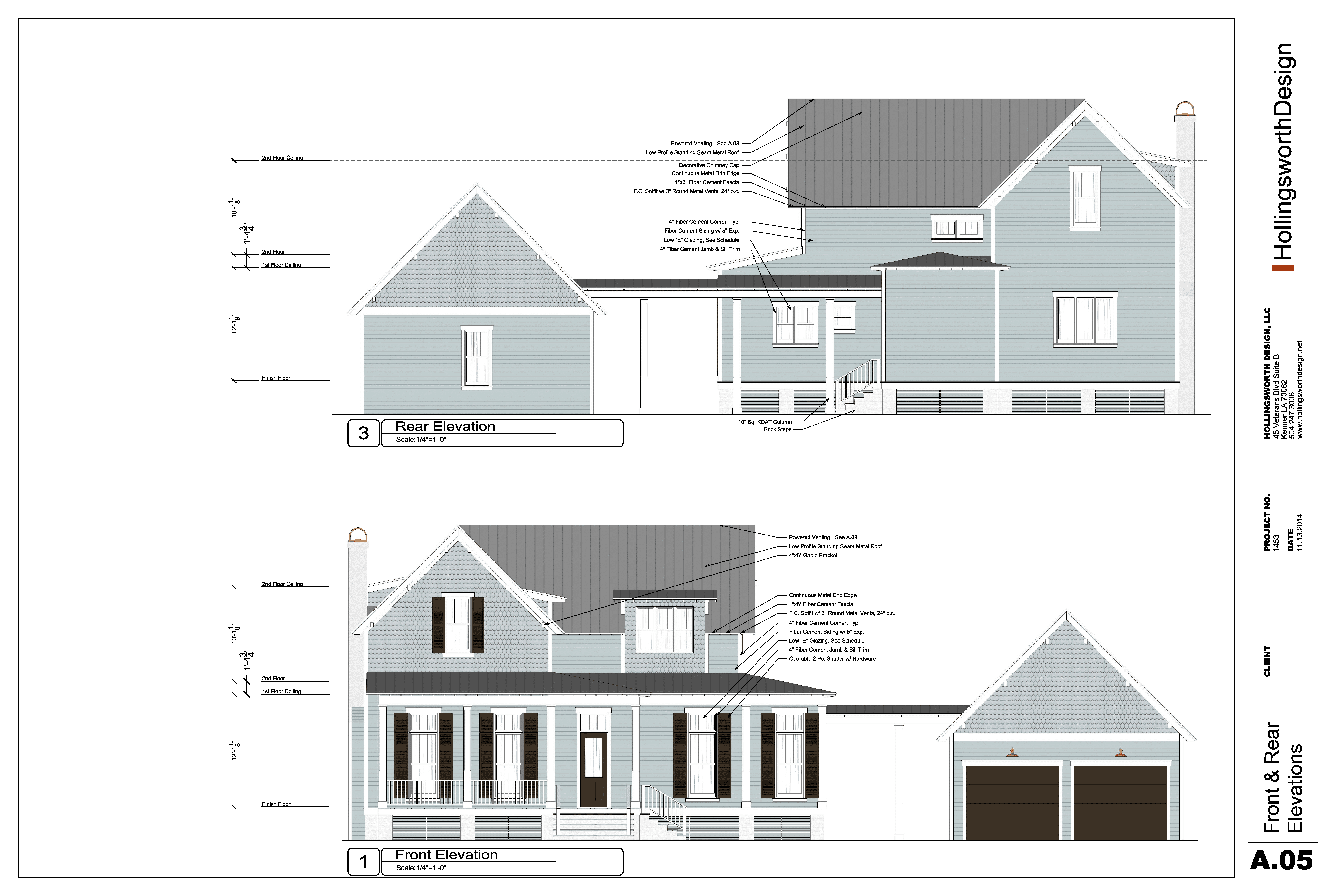 Custom Home Design - Hollingsworth Design