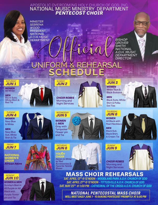 Ministry Of Music - Apostolic Overcoming Holy Church of God, Inc
